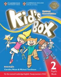 Kid's Box Updated Level 2 Pupil's Book British English / Підручник для учня