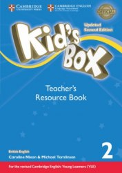 Kid's Box Updated Level 2 Teacher's Resource Book with Online Audio British English / Ресурси для вчителя