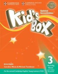 Kid's Box Updated Level 3 Activity Book with Online Resources British English / Робочий зошит