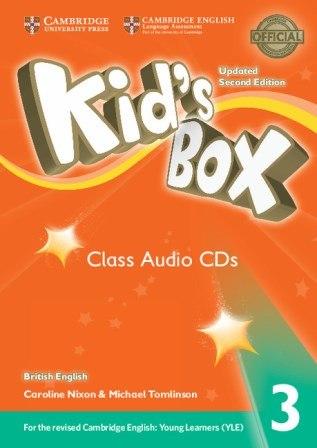 Kid's Box Updated Level 3 Class Audio CDs (4) British English / Аудіо диск