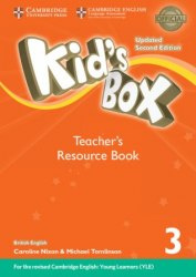 Kid's Box Updated Level 3 Teacher's Resource Book with Online Audio British English / Ресурси для вчителя