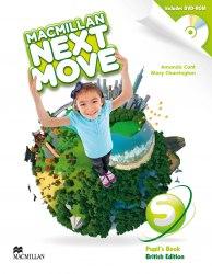 Macmillan Next Move Starter Pupil's Book with DVD-ROM / Підручник для учня