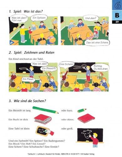 Tamburin 1 Lehrbuch / Підручник для учня