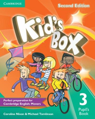 Kid's Box Second Edition 3 Pupil's Book / Підручник для учня