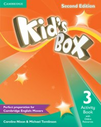Kid's Box Second Edition 3 Activity Book with Online Resources / Робочий зошит