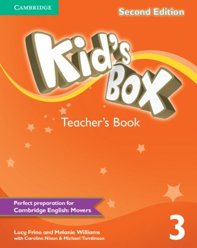 Kid's Box Second Edition 3 Teacher's Book / Підручник для вчителя