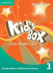 Kid's Box Second Edition 3 Class Audio CDs / Аудіо диск