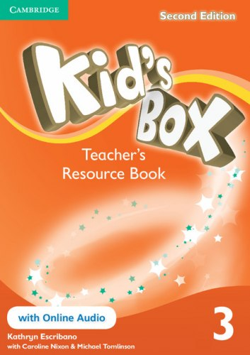 Kid's Box Second Edition 3 Teacher's Resource Book with Online Audio / Ресурси для вчителя