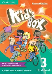 Kid's Box Second Edition 3 Flashcards / Flash-картки