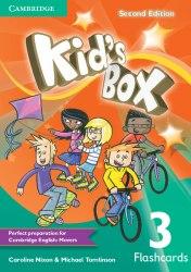 Kid's Box Second Edition 3 Flashcards / Flash-картки