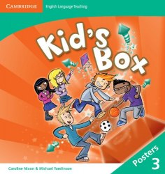 Kid's Box Second Edition 3 Posters / Плакати