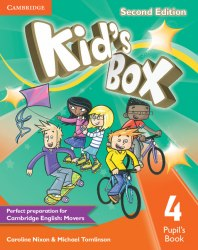 Kid's Box Second Edition 4 Pupil's Book / Підручник для учня