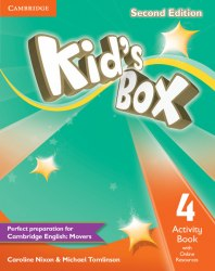 Kid's Box Second Edition 4 Activity Book with Online Resources / Робочий зошит