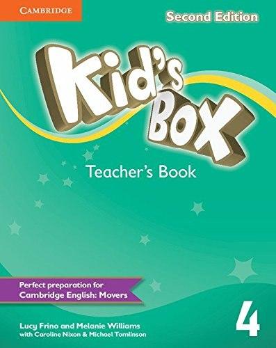 Kid's Box Second Edition 4 Teacher's Book / Підручник для вчителя