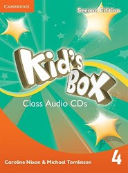 Kid's Box Second Edition 4 Class Audio CDs / Аудіо диск