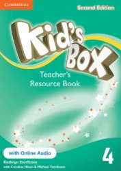 Kid's Box Second Edition 4 Teacher's Resource Book with Online Audio / Ресурси для вчителя