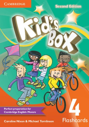 Kid's Box Second Edition 4 Flashcards / Flash-картки