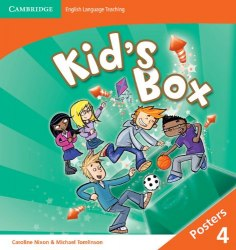 Kid's Box Second Edition 4 Posters / Плакати