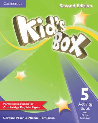 Kid's Box Second Edition 5 Activity Book with Online Resources / Робочий зошит
