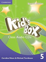 Kid's Box Second Edition 5 Class Audio CDs / Аудіо диск