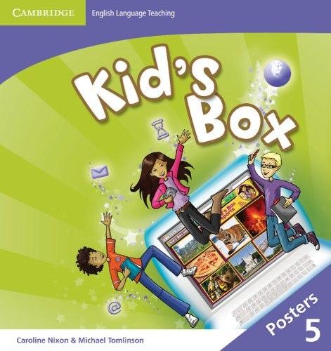 Kid's Box Second Edition 5 Posters / Плакати