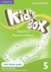 Kid's Box Second Edition 5 Teacher's Resource Book with Online Audio / Ресурси для вчителя