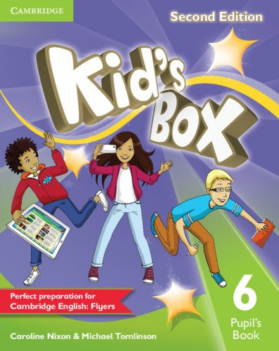 Kid's Box Second Edition 6 Pupil's Book / Підручник для учня