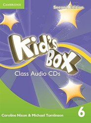 Kid's Box Second Edition 6 Class Audio CDs / Аудіо диск