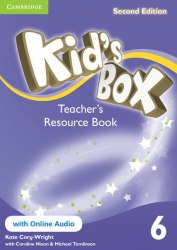 Kid's Box Second Edition 6 Teacher's Resource Book with Online Audio / Ресурси для вчителя