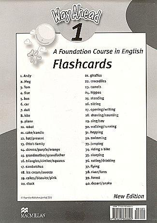 Way Ahead New Edition 1 Flashcards / Flash-картки