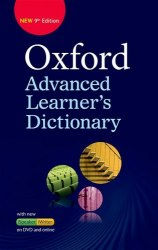 Oxford Advanced Learner's Dictionary 9th Edition with iSpeaker and iWriter DVD-ROM and Online Access / Словник