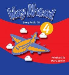 Way Ahead New Edition 4 Story Audio CD / Аудіо диск