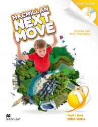 Macmillan Next Move 1 Pupil's Book with DVD-ROM / Підручник для учня