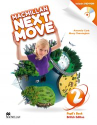 Macmillan Next Move 2 Pupil's Book with DVD-ROM / Підручник для учня