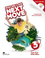 Macmillan Next Move 3 Pupil's Book with DVD-ROM / Підручник для учня