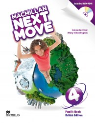 Macmillan Next Move 4 Pupil's Book with DVD-ROM / Підручник для учня