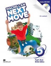Macmillan Next Move 5 Pupil's Book with DVD-ROM / Підручник для учня