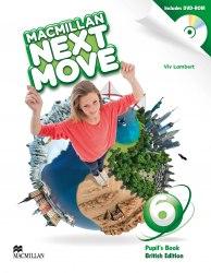 Macmillan Next Move 6 Pupil's Book with DVD-ROM / Підручник для учня