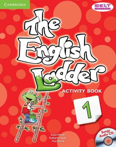 The English Ladder 1 Activity Book with Songs Audio CD / Робочий зошит