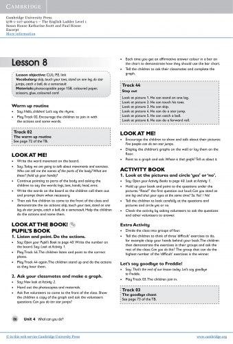 The English Ladder 1 Teacher's Book / Підручник для вчителя