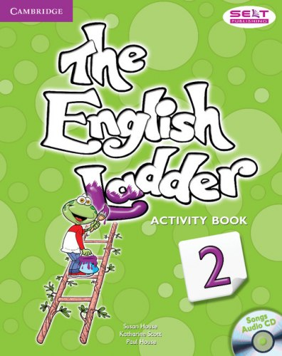 The English Ladder 2 Activity Book with Songs Audio CD / Робочий зошит
