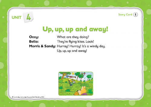 The English Ladder 2 Story Cards / Картки