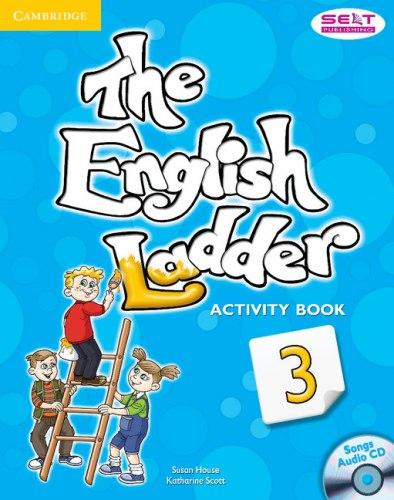 The English Ladder 3 Activity Book with Songs Audio CD / Робочий зошит
