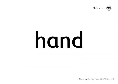 The English Ladder 3 Flashcards / Flash-картки