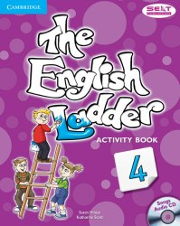 The English Ladder 4 Activity Book with Songs Audio CD / Робочий зошит