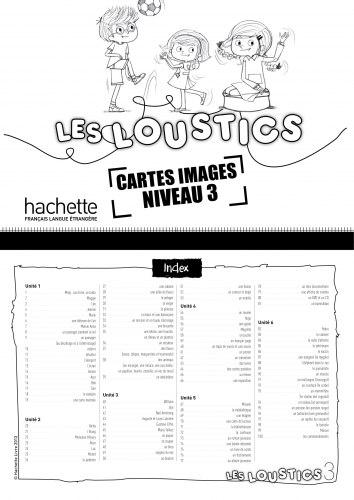 Les Loustics 3 Cartes images en couleurs / Flash-картки