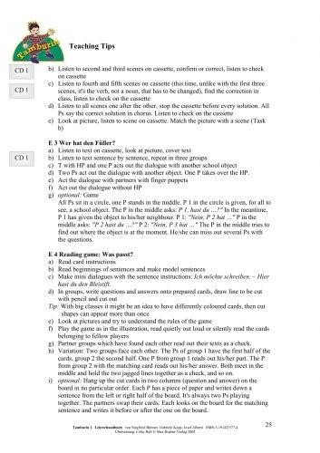 Tamburin 1 Lehrerhandbuch / Підручник для вчителя