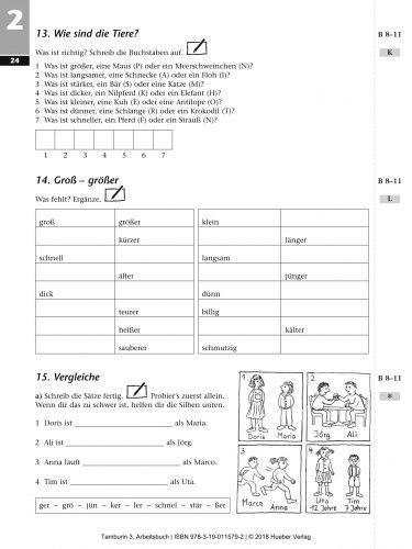 Tamburin 3 Arbeitsbuch / Робочий зошит