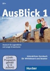 AusBlick 1 Interaktives Kursbuch für Whiteboard und Beamer DVD-ROM / Ресурси для інтерактивної дошки
