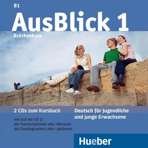 AusBlick 1 Audio-CDs (2) zum Kursbuch / Аудіо диск